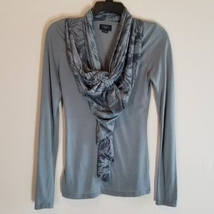 Anthropologie Deletta Size Small Long Sleeve Top